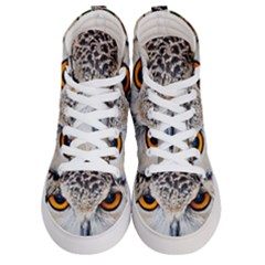 Owl Face Men s Hi Top Skate Sneakers