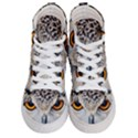 Owl Face Men s Hi-Top Skate Sneakers View1