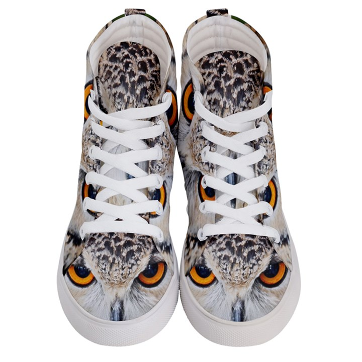 Owl Face Men s Hi-Top Skate Sneakers