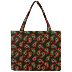 Pattern Abstract Paisley Swirls Mini Tote Bag by Sapixe