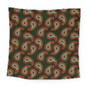 Pattern Abstract Paisley Swirls Square Tapestry (Large) View1