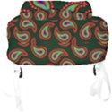 Pattern Abstract Paisley Swirls Full Print Backpack View4