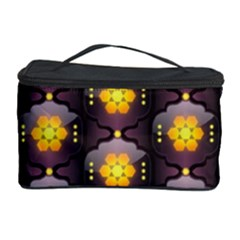 Pattern Background Yellow Bright Cosmetic Storage Case