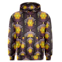 Pattern Background Yellow Bright Men s Pullover Hoodie
