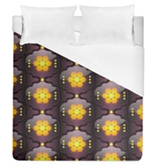 Pattern Background Yellow Bright Duvet Cover (Queen Size)