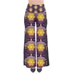 Pattern Background Yellow Bright So Vintage Palazzo Pants