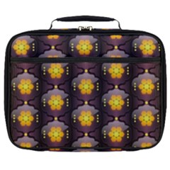 Pattern Background Yellow Bright Full Print Lunch Bag