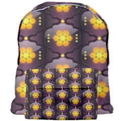 Pattern Background Yellow Bright Giant Full Print Backpack