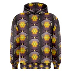 Pattern Background Yellow Bright Men s Overhead Hoodie