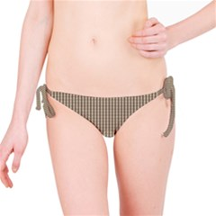 Pattern Background Stripes Karos Bikini Bottom by Sapixe