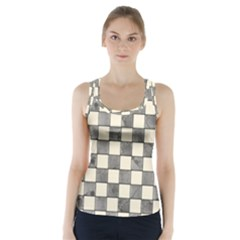 Pattern Background Texture Racer Back Sports Top by Sapixe