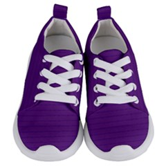 Pattern Violet Purple Background Kids  Lightweight Sports Shoes