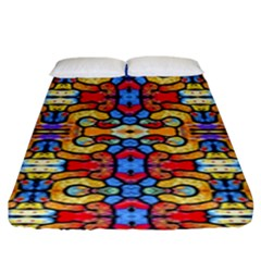 Artwork By Patrick Pattern 37 Fitted Sheet (king Size) by ArtworkByPatrick