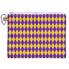 Real Jester Canvas Cosmetic Bag (xxl) by jumpercat