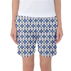 Blue Jess Women s Basketball Shorts by jumpercat
