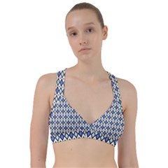 Blue Jess Sweetheart Sports Bra by jumpercat