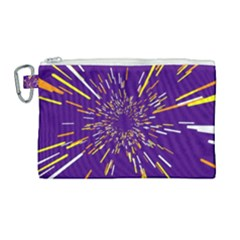 Space Trip 1 Canvas Cosmetic Bag (large) by jumpercat