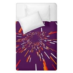 Space Trip 4 Duvet Cover Double Side (single Size) by jumpercat