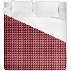 Red Triangulate Duvet Cover (king Size)