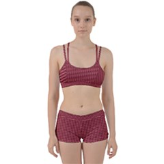 Red Triangulate Women s Sports Set by jumpercat