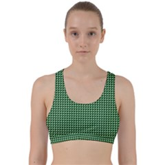 Green Triangulate Back Weave Sports Bra by jumpercat