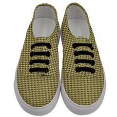 Ocre Triangulate Men s Classic Low Top Sneakers