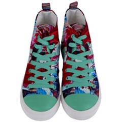 Dscf2258 Point Of View Women s Mid Top Canvas Sneakers