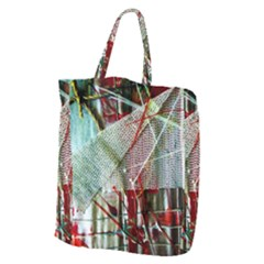 Hidden Strings Of Urity 10 Giant Grocery Zipper Tote by bestdesignintheworld