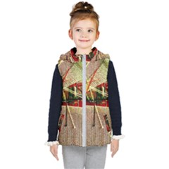 Hidden Strings Of Purity 12 Kid s Hooded Puffer Vest by bestdesignintheworld