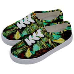Girl In A Bar Kids  Classic Low Top Sneakers by bestdesignintheworld