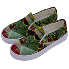 Hidden Strings Of Purity 7 Kids  Canvas Slip Ons by bestdesignintheworld