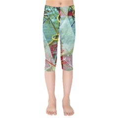 Hidde Strings Of Purity 2 Kids  Capri Leggings