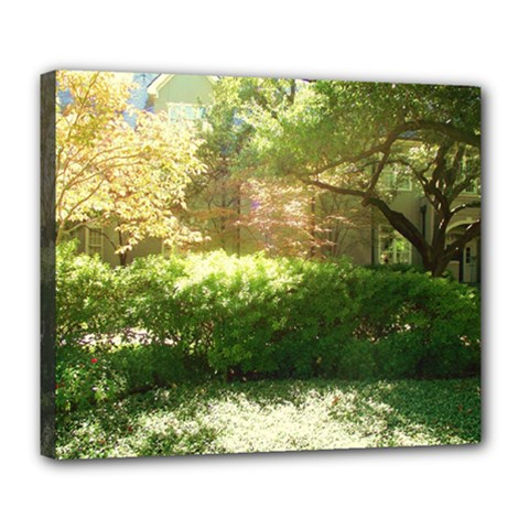 Highland Park 19 Deluxe Canvas 24  X 20   by bestdesignintheworld