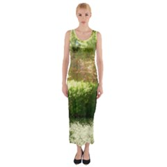 Highland Park 19 Fitted Maxi Dress