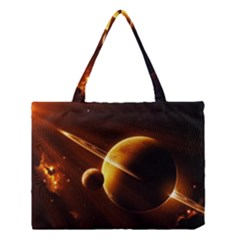 Planets Space Medium Tote Bag