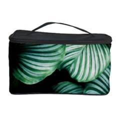 Tropical Florals Cosmetic Storage Case by goljakoff