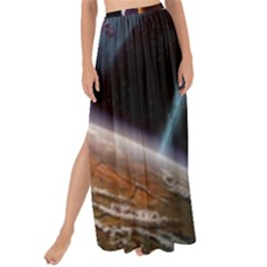 Planets In Space Maxi Chiffon Tie Up Sarong