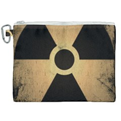 Radioactive Warning Signs Hazard Canvas Cosmetic Bag (xxl) by Sapixe