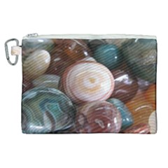 Rain Flower Stones Is A Special Type Of Stone Found In Nanjing, China Unique Yuhua Pebbles Consistin Canvas Cosmetic Bag (xl)