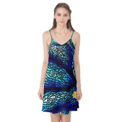 Sea Fans Diving Coral Stained Glass Camis Nightgown