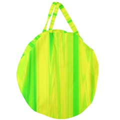 Shading Pattern Symphony Giant Round Zipper Tote
