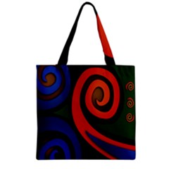 Simple Batik Patterns Grocery Tote Bag