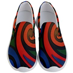 Simple Batik Patterns Men s Lightweight Slip Ons by Sapixe