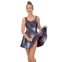 Shells Around Tubes Abstract Inside Out Dress