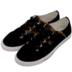 Smoke Fume Smolder Cigarette Air Men s Low Top Canvas Sneakers by Sapixe