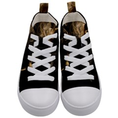 Smoke Fume Smolder Cigarette Air Kid s Mid Top Canvas Sneakers