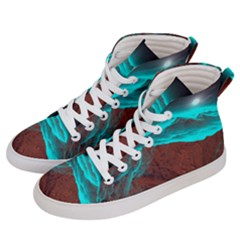 Shera Stringfellow Women s Hi-top Skate Sneakers by Sapixe