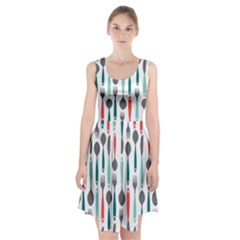 Spoon Fork Knife Pattern Racerback Midi Dress by Sapixe
