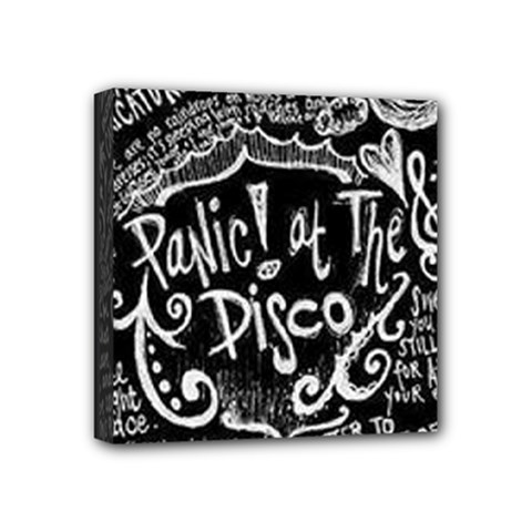 Panic! At The Disco Lyric Quotes Mini Canvas 4  X 4  by Samandel