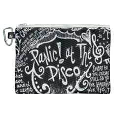 Panic! At The Disco Lyric Quotes Canvas Cosmetic Bag (xl) by Samandel